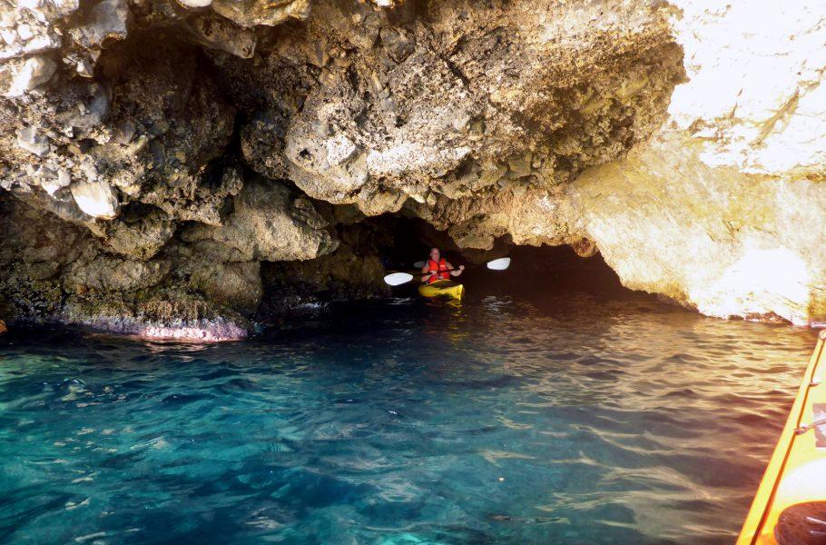 Grotta di Green Lagoon a Porto Selvaggio