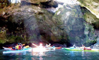 kayaking in Polignano's cave - Puglia & Salento by kayak!