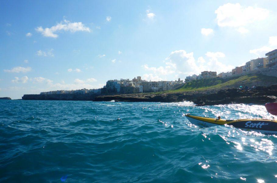 sea kayak Polignano a Mare