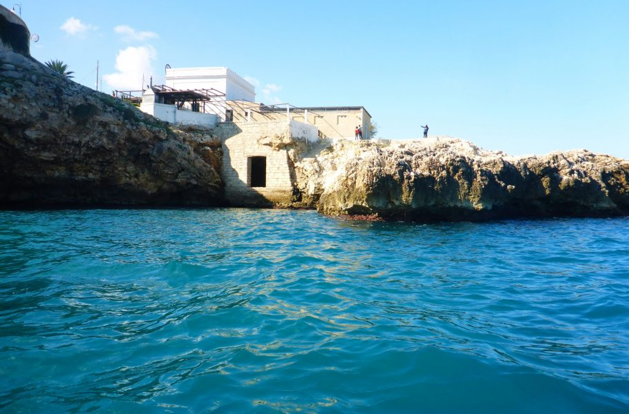 kayaking near Polignano a Mare