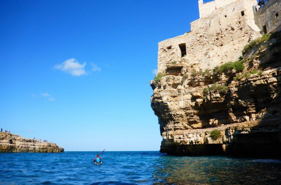 Polignano kayak tour