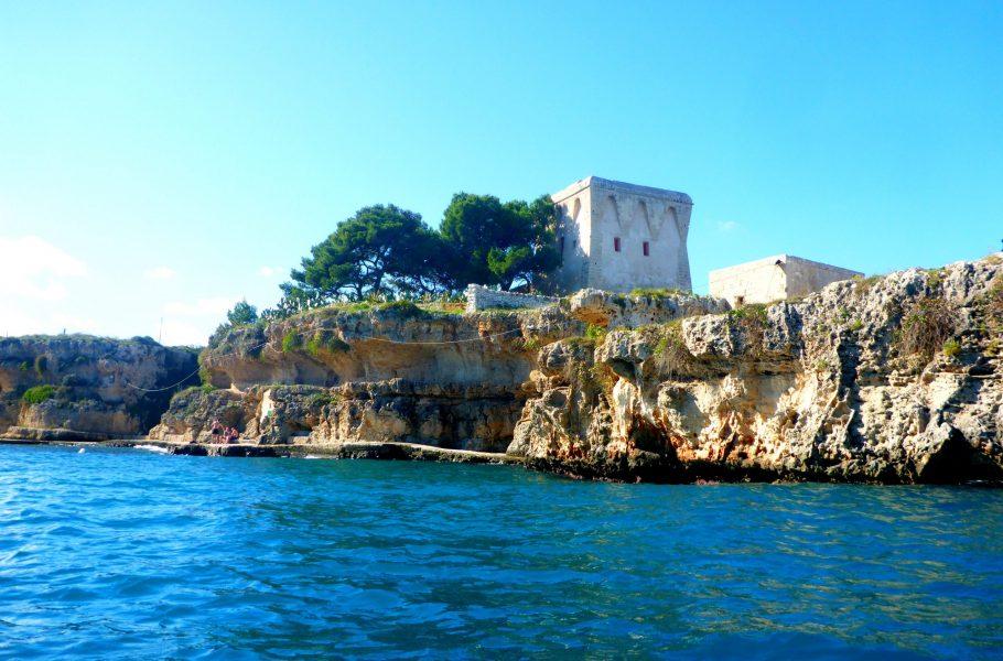 Polignano's coast
