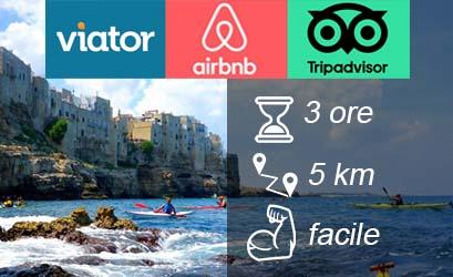 polignano a mare kayak trip - Puglia & Salento by kayak!