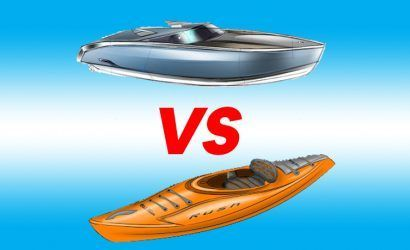 kayak vs boat - Puglia and Salento by kayak!