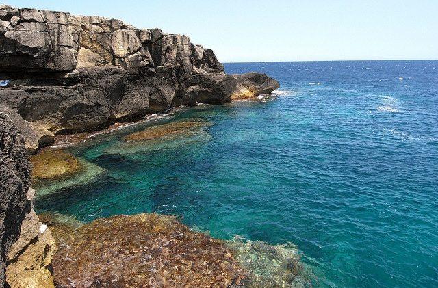 costa di Santa Cesarea Terme