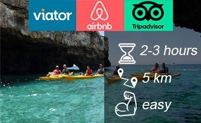 S. Maria di Leuca kayak trip